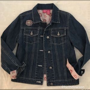 Other - 🆕Girls Denim Jacket Sz L
